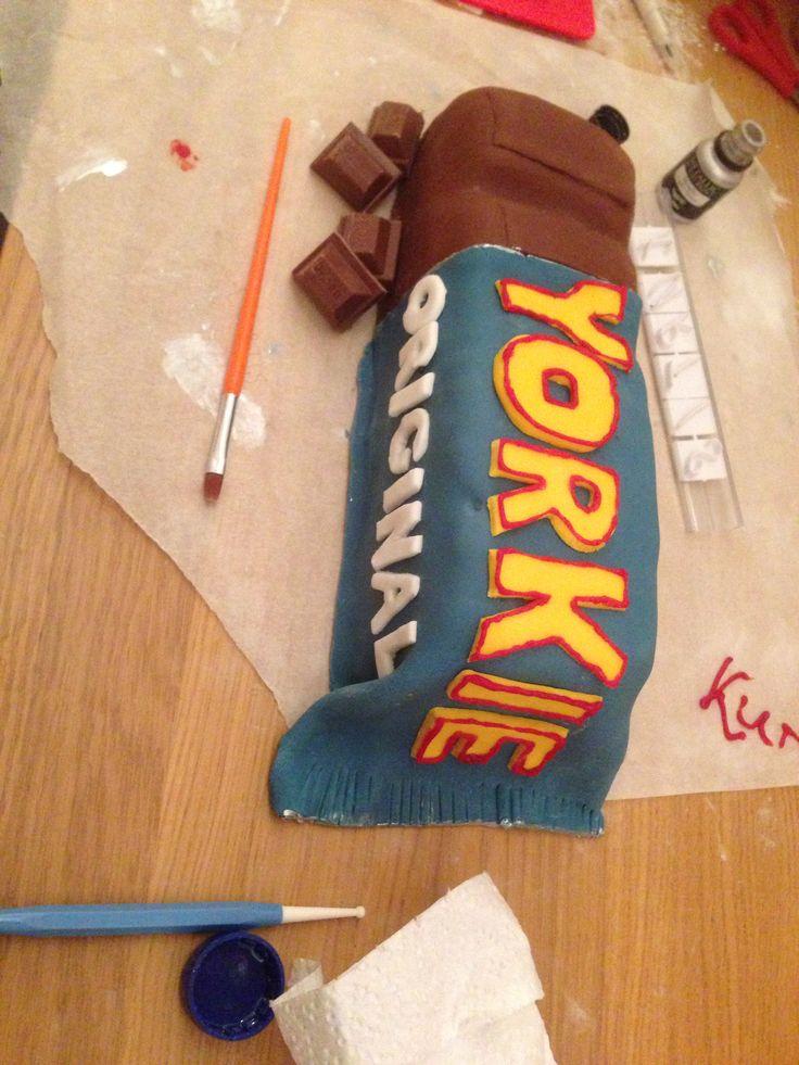 Yorkie bar cake