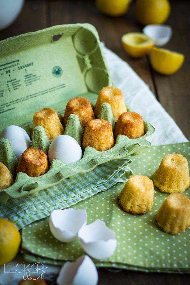 Saftige Zitronen Mini-Gugel mit extra viel Zitronen Geschmack