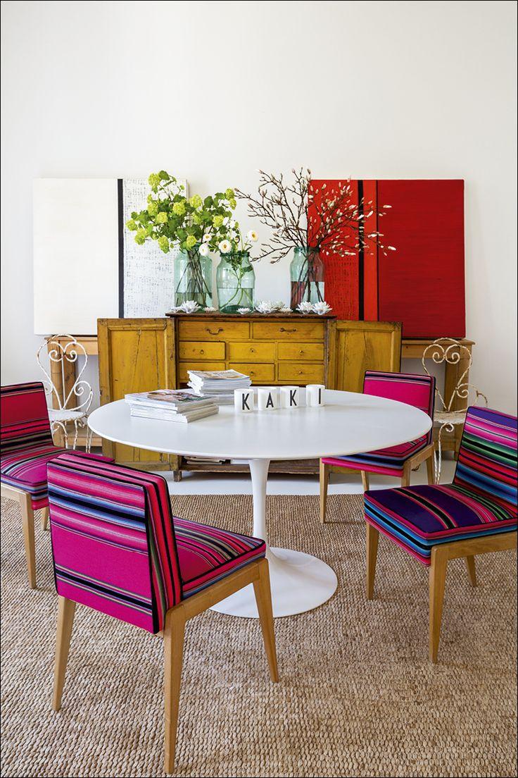 Kaki | La casa de Luis Galliussi en Madrid es un derroche de creatividad poco convencional. Llena de objetos encontrados a los que solo él encuentra una belleza oculta, le sienta como un guante.