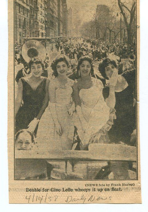 First national PR day Parade 1958 ... and I was there ... hurray!!!