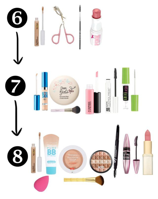 """6th 7th & 8th grade makeup"" by nyc-sama on Polyvore featuring beauty, Almay, Etude House, Victoria's Secret, Maybelline, MAC Cosmetics, NYX, Neutrogena and L'Oréal Paris"