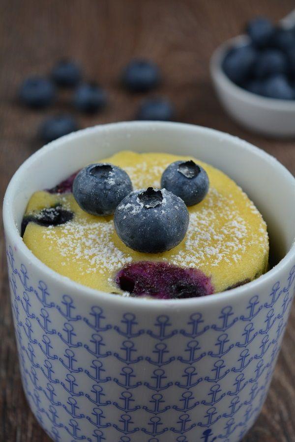 Blaubeer Tassenkuchen | Der Kuchenbäcker