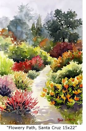 by Marie Gabrielle #watercolor #watercolor painting #painting