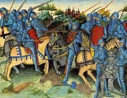 A Castejón ha ganado con todo el oro y la plata. Ya cargados del botín sus caballeros llegaban, déjanselo a Mío Cid, que no lo aprecian en nada. Mientras iban los doscientos tres hombres de la vanguardia corriendo tierras sin miedo y mucho las saqueaban.
