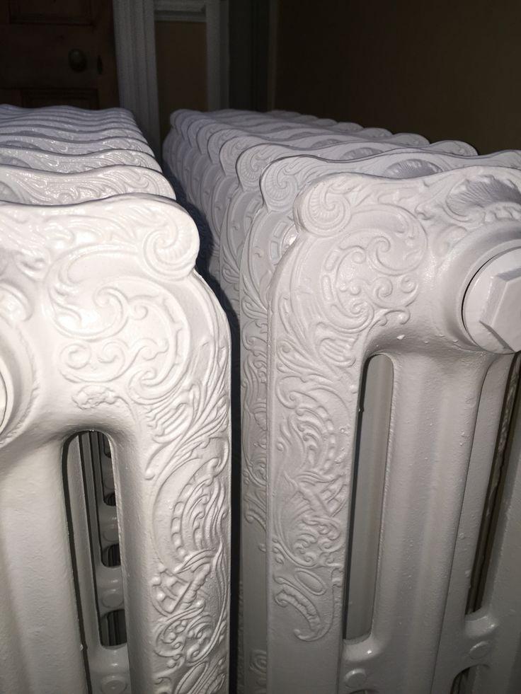 My new cast iron radiators!