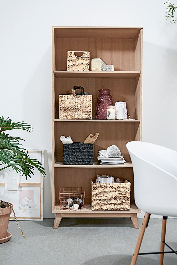 Storage in a decorative way - home decor