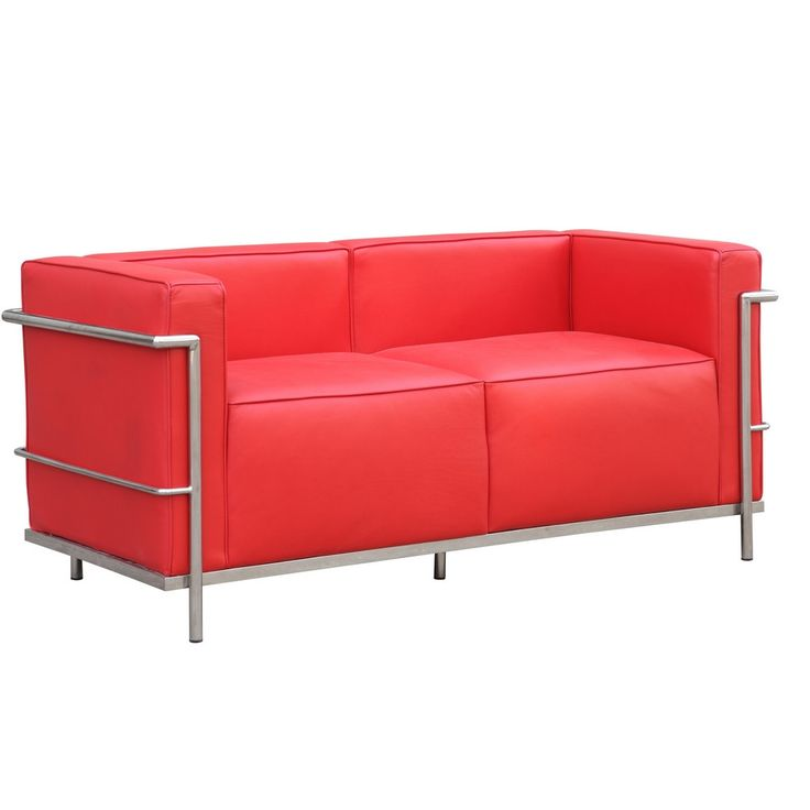 Deep Red Leather Sofas: 1000+ Ideas About Red Leather Couches On Pinterest