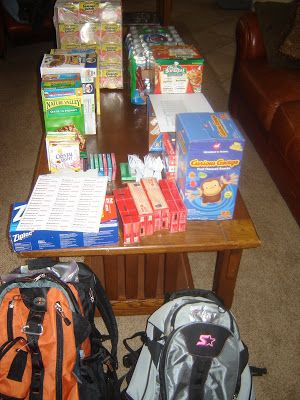 On Saturday, our family put together our 72 Hour Kit food packs. It was a fun activity and went quickly. This would be a great family night...