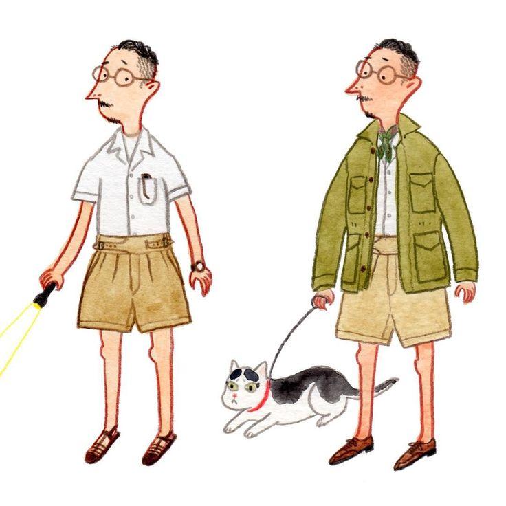 """Gurkha"" from ""5 ways to wear shorts"" #let_summer_stay #mensfashion #menswear #gurkhashorts #fashionillustration #fashiontips #slowboy"