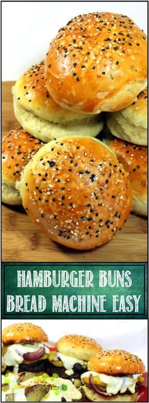 Grilling Time - HAMBURGER BUNS... Anyone can make these. the recipe is mixed, kneaded and rises in a BREAD MACHINE. Comes out PERFECT every time. Simple to finish in the burger buns shape and your back yard BBQ Becomes something SPECIAL. Fresh made home made Hamburger buns to make you THAT GUY (or Gal), king of the neighborhood BBQ... EASY And LOTS of PHOTO instructions
