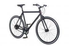 Fixie bike   Amsterdam Elite NuVinci Matt Black   Lekker Bikes