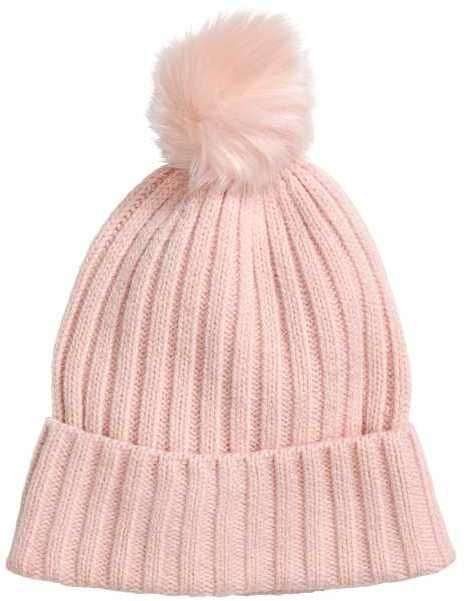 9bf892feb H&M Hat with Pompom | Products | Hats, Winter hats, Pink hat