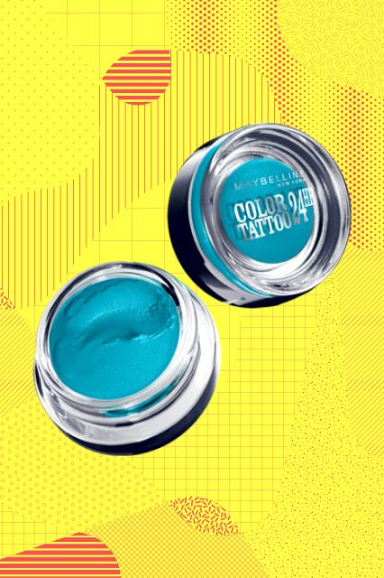 """25 Magical Drugstore Beauty Buys #refinery29  http://www.refinery29.com/cheap-makeup#slide25  """"When it comes to eyeshadow, I'm all about texture — and I'm obsessed with the cream-gel formula of Maybelline's Color Tattoo line. Application is easy-peasy, and the shade selection is plentiful."""""""