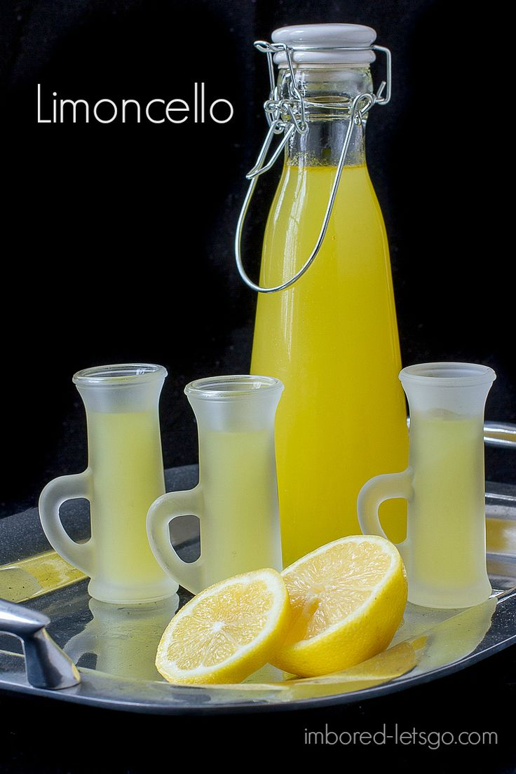 Homemade Limoncello - it's simple to make and tastes really great!