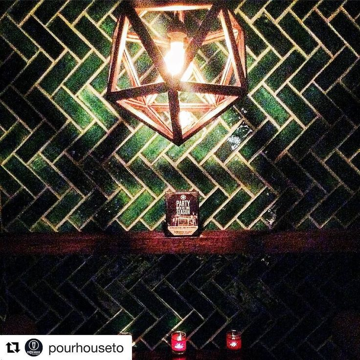 #Repost @pourhouseto  Cool places to checkout drop by The Pour House Toronto Pub & Kitchen!  Backsplash supplied by Marble Trend using handmade ceramic tiles. #toronto #torontopub #tiles #backsplash #ceramics #insta