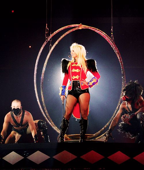 Britney in Circus costume