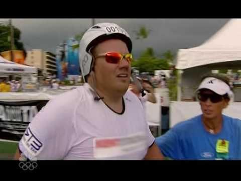 Biggest Loser Matt Hoover finishes Ironman Triathlon #dohardthings