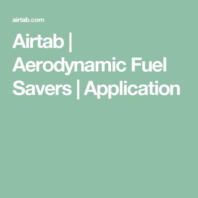 Airtab | Aerodynamic Fuel Savers | Application