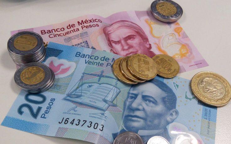 Billetes y Monedas Mexicanas.