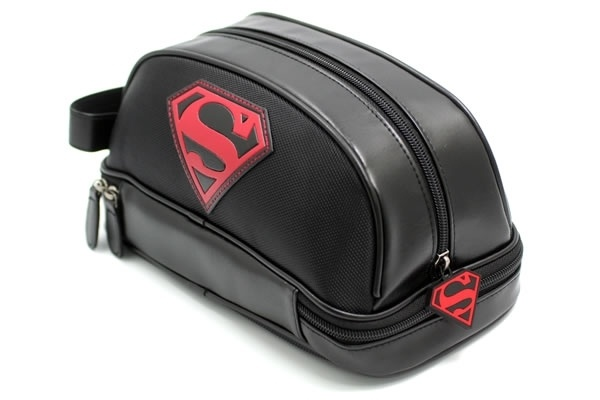 Superman - Men's Travel Kit  You know, for when you're changing into your cape, and you just need to spray on some AXE Body Spray.