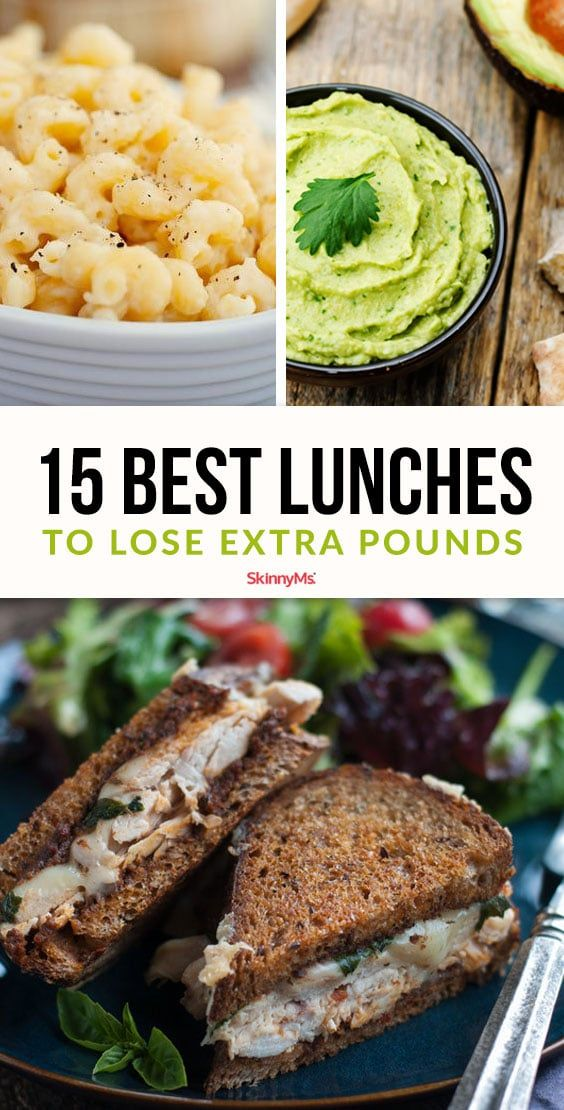 15 Best Lunches to Lose Extra Pounds