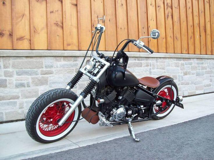 17 best images about 650 1100 dragstar vstar xvs on for Yamaha v star 650 custom bobber kit