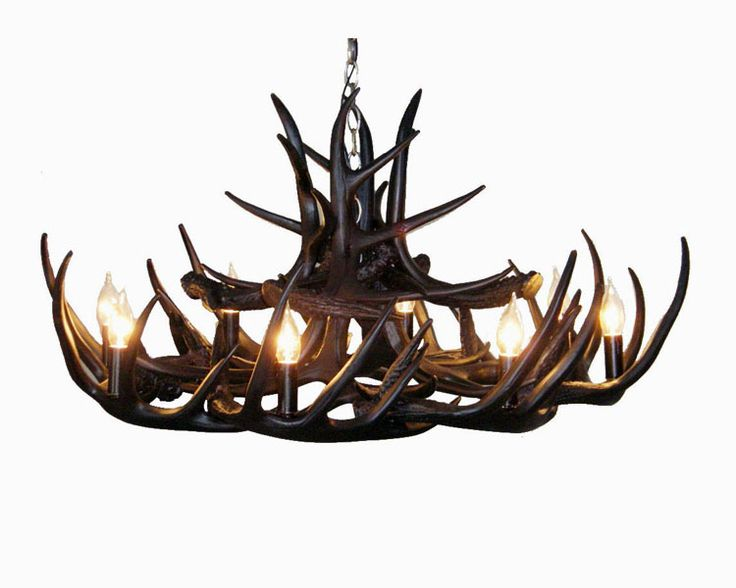 12 best how to fit the fantastic antler chandelier into various room splendid black antler chandelier aloadofball Images