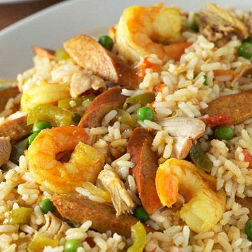 Paella with Chicken and Shrimp -low carb diabetic living online