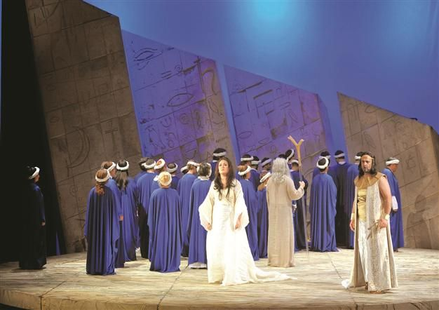 """The 6th International Istanbul Opera Festival, organized by the General Directorate of State Opera and Ballet, will open on June 8 with the famous """"Abduction from Seraglio,"""" which has become a symbol of the festival."""