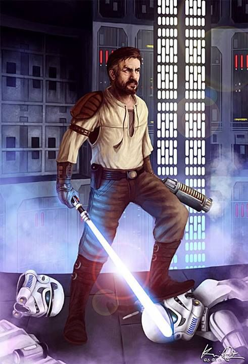 Kyle Katarn en Jedi Knight - Jedi Outcast  comment by Torby