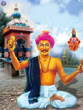 "#Chokhamela was a saint in #Maharashtra, #India in the 14th century. He belonged to the #Mahar caste considered ""untouchable"" in India in that era. He was initiated into bhakti spirituality by the poet-saint #Namdev. Already a devotee of #Vitthal, Chokha was moved by Namdev's teachings."