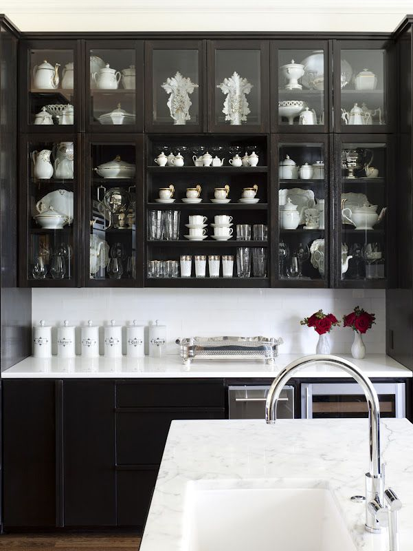 Kitchen Cabinets Black 237 best kitchens in black images on pinterest | home, kitchen and
