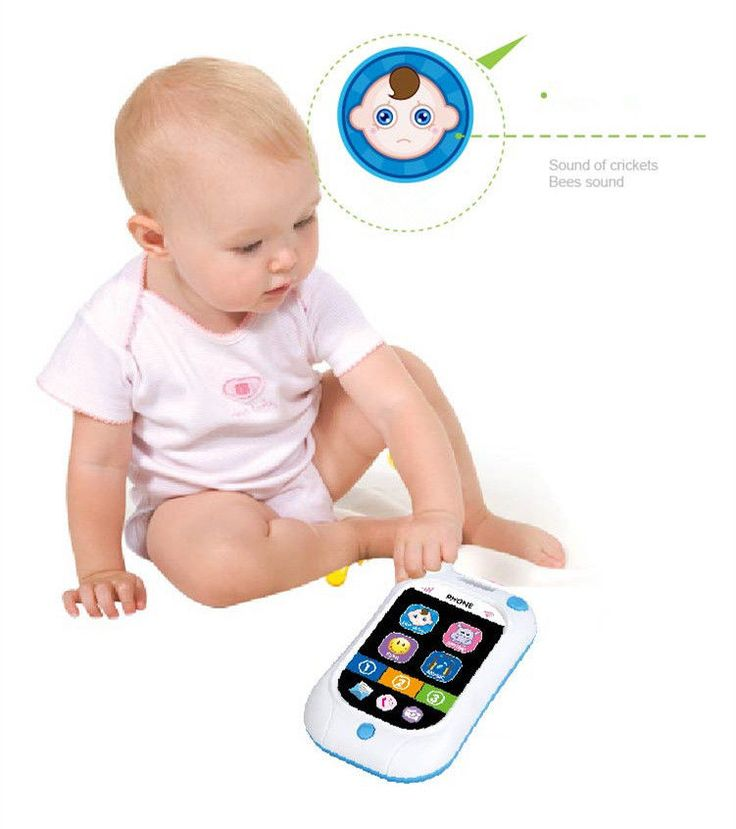 Electronic Infant Mobile Phone Smartphone Cellphone - Electronic Crib Mobile