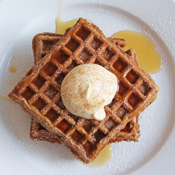 gingerbread waffles | Not Biggest Loser Recipies | Pinterest