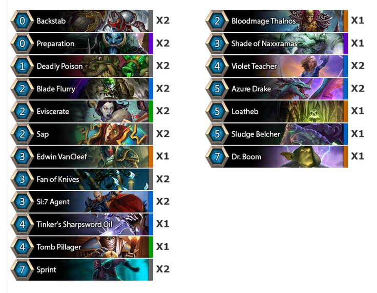 Kolento's Oil Rogue Deck - StarLadder i-League #hearthstone
