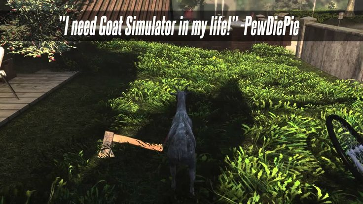 'Goat Simulator', A Video Game That Simulates the Life of a Goat, Now Available for Pre-Order