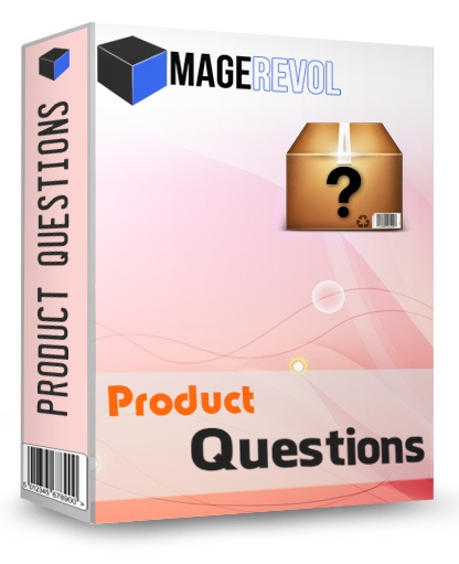 The Product Questions Magento extension lets your potential customers ask you product-related questions on the product page itself. Answer them right there - and resolve their doubts.