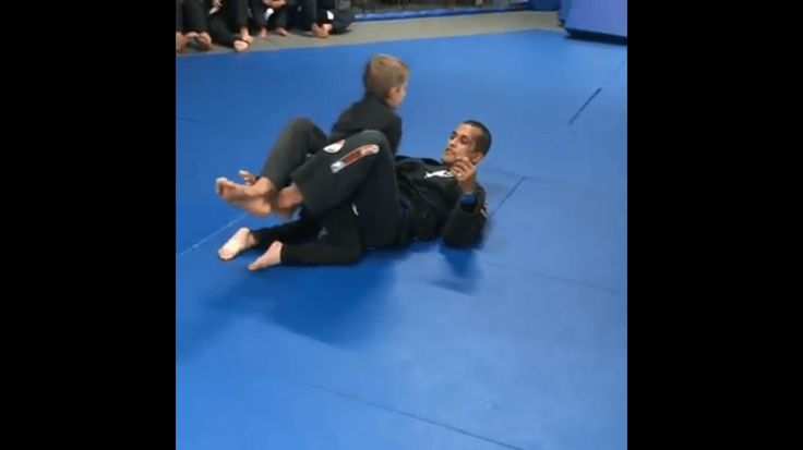 Blind 6-Year-Old Working With BJJ Black Belt