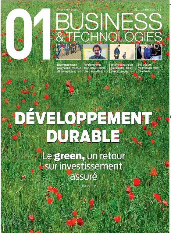 01Business n°2132 - Spécial développement durable #GreenTech #GreenIT