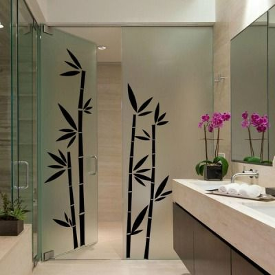 Best Bamboo Wall Stickers Images On Pinterest Bamboo Wall - Vinyl wall decals bamboo
