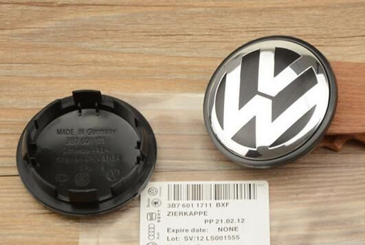 4 pcs C06 65mm VW wheel center cap hub cap  Logo badge emblems EOS Golf Jetta Mk5 Passat B6 VW 3B7 601 171