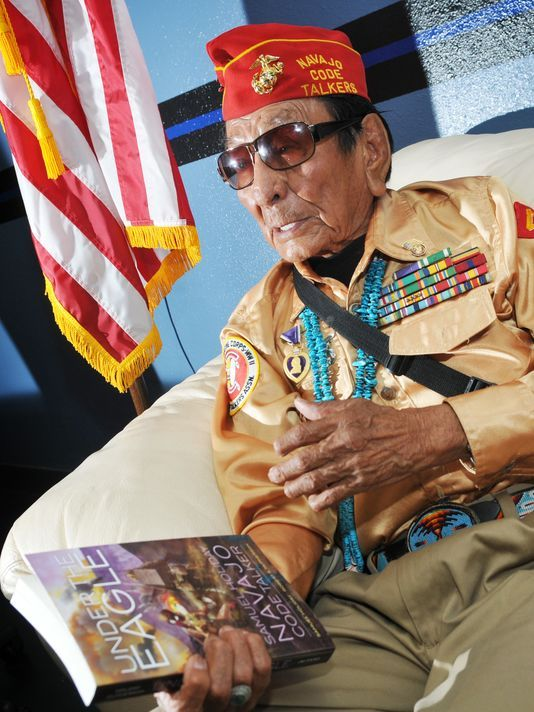 'Code Talker' spreads word of hush-hush WWII mission - http://www.warhistoryonline.com/war-articles/code-talker-spreads-word-hush-hush-wwii-mission.html