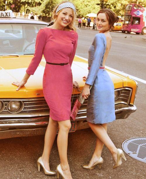 Serena and blair photo shoot season 1