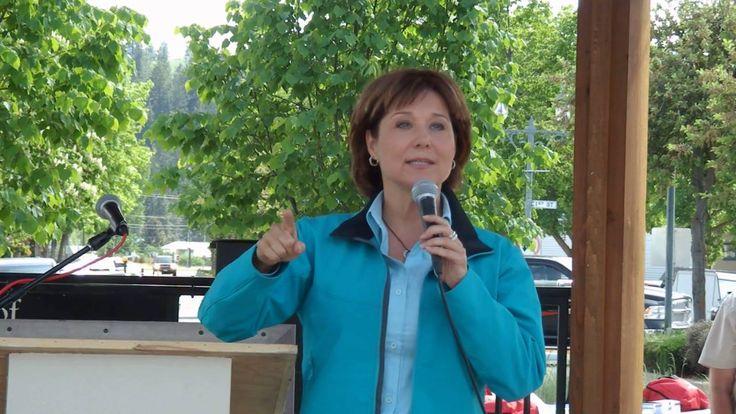 Premier Christy Clark - Princeton (BC) Mining Day