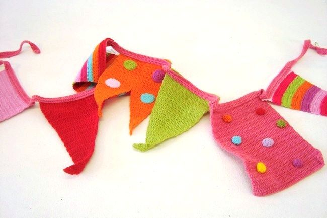 This colourful crochet bunting is a lovely way to decorate the classroom for your little learners! Order through From the Heart Emporium: http://bit.ly/1Oir5v1