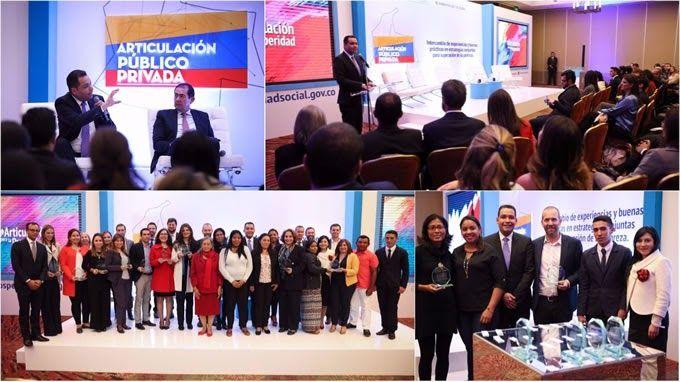 11 iniciativas público-privadas reciben reconocimiento del Gobierno Nacional por sus aportes a la Superación de la Pobreza http://www.hoyesnoticiaenlaguajira.com/2017/12/11-iniciativas-publico-privadas-reciben.html