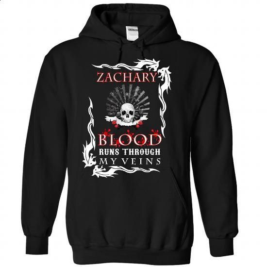 (Blood002) ZACHARY Blood Runs Through My Veins - #T-Shirts #capri shorts. ORDER…