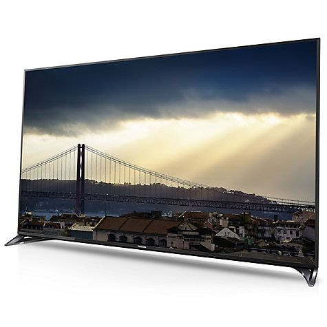 """Buy Panasonic Viera TX-50CX802B LED 4K Ultra-HD 3D Smart TV, 50"""" with Freeview HD/freesat HD, Built-In Wi-Fi & Voice Assistant Online at johnlewis.com"""