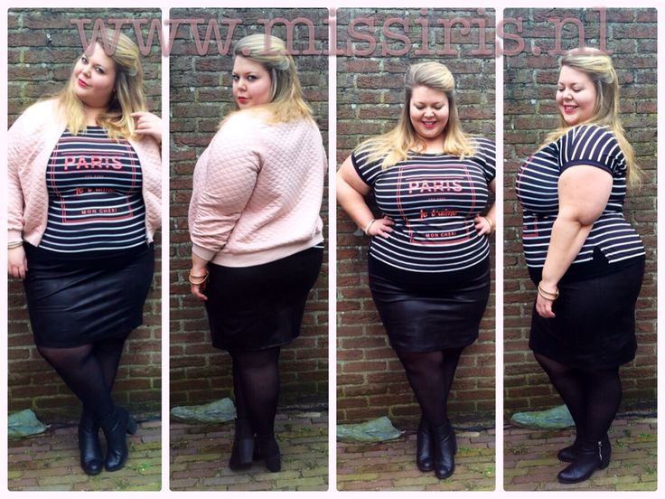 Style update - strawberry icecream- Miss Etam - grote maten mode