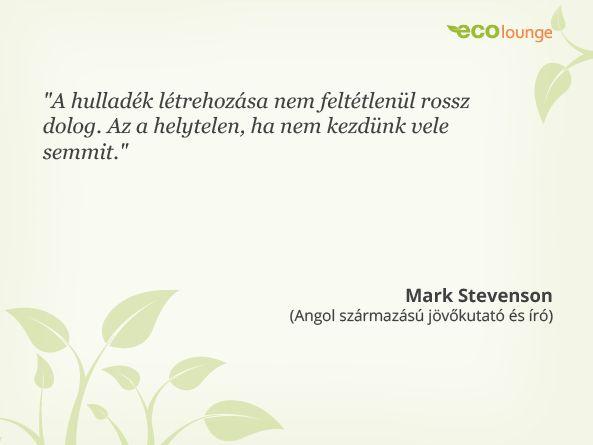 Mark Stevenson idézet / #quotation